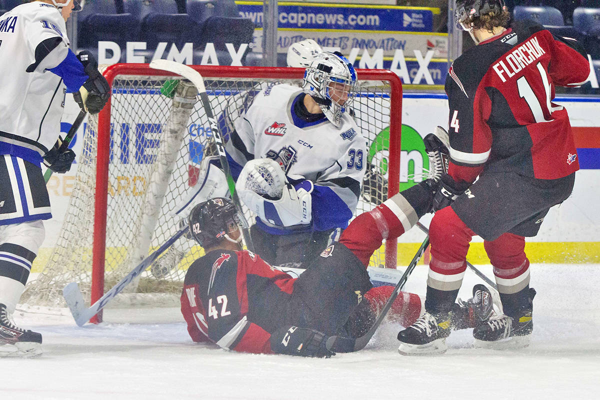 Vancouver Giants snapped a four-game winless streak with a 5-4 shootout victory over the Victoria Royals (Paige Bednorz/special to Black Press Media)