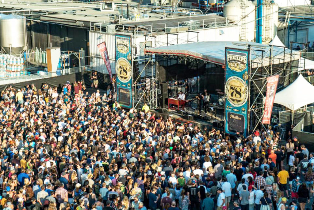 FILE – The Phillips Backyard Weekender music festival drew large crowds to downtown Victoria in July 2017. (Facebook )