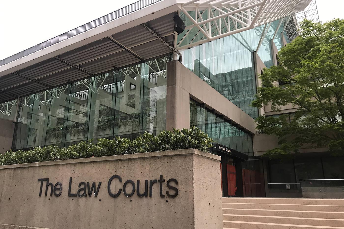 The Vancouver Law Courts. (Black Press Media file)