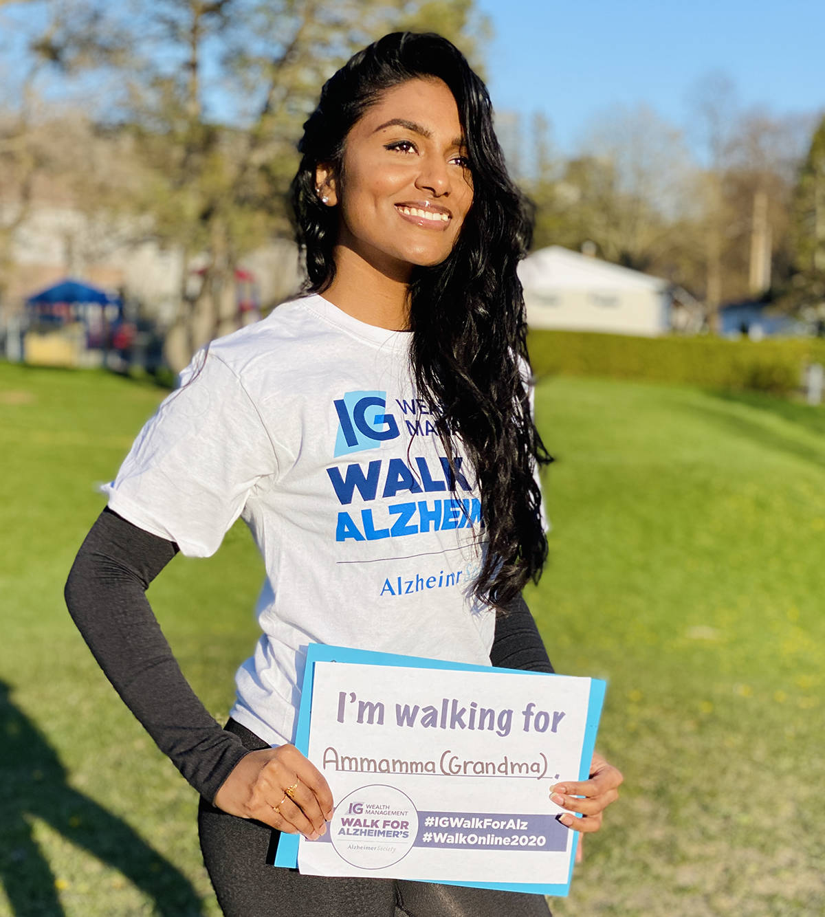 Event participants walk where they want, when they want throughout the month of May.
