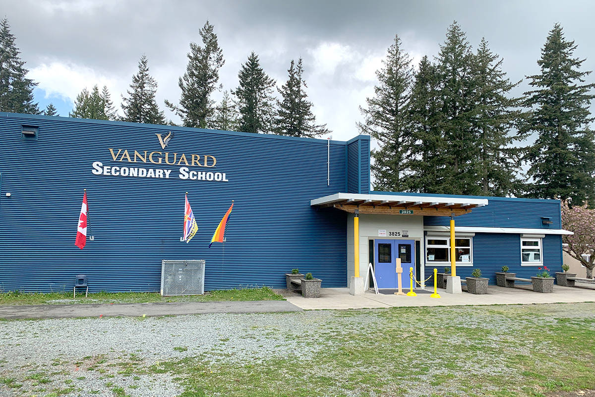 Vanguard Secondary School is set to receive $3.8 million in seismic upgrades. The upgrades are scheduled to be complete by March 2023. (Joanne Abshire/Special to Langley Advance Times)
