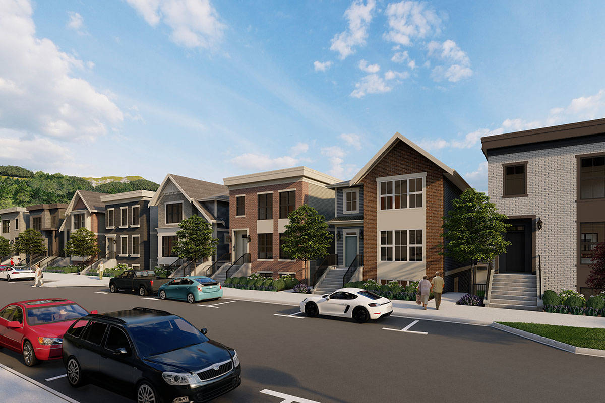 The Master Planned Cedarbrook community will include a thoughtful blend of lane homes, duplexes, trail homes, row homes and townhomes.