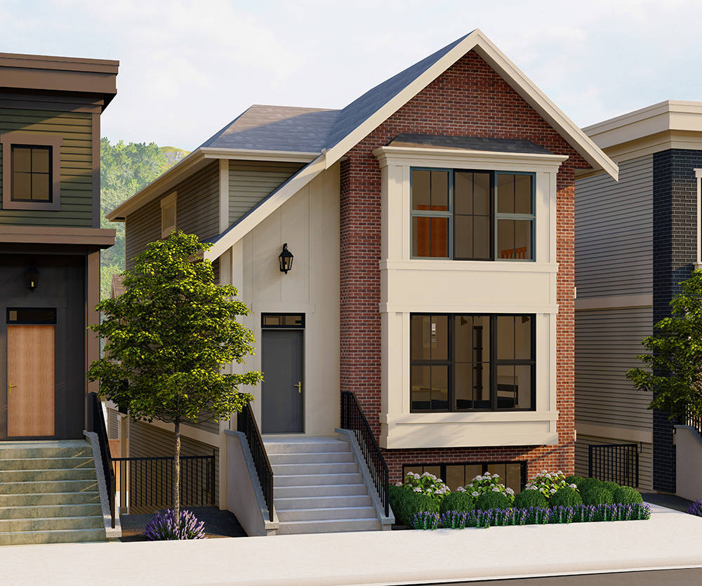 Cedarbrook's Lane Homes offer a variety of separate living spaces to make renting and multi-generational family living easy.