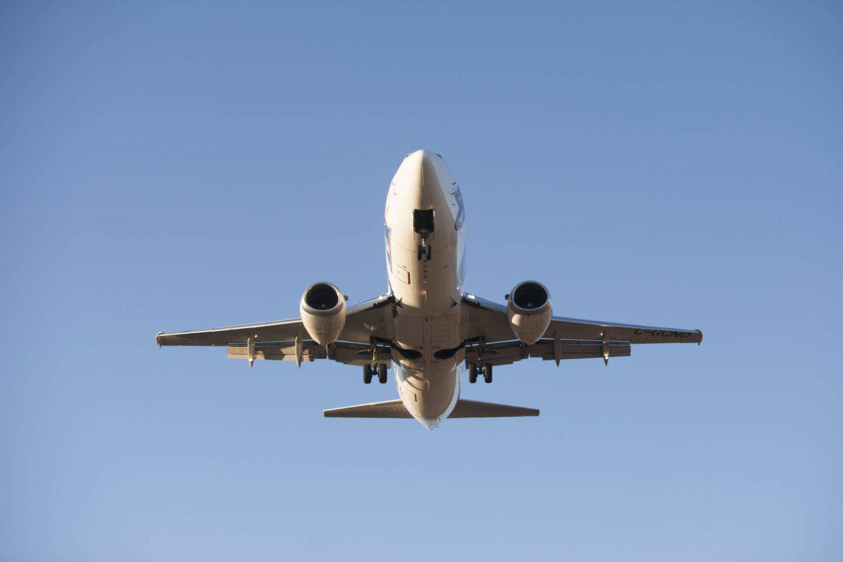 Two passengers were recently fined thousands of dollars after they faked their pre-flight COVID-19 test results. (Paul Clarke/Black Press)