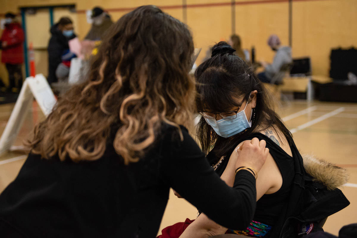 Starting Tuesday, May 11, B.C. adults born in 1981 and earlier will be able to register for a vaccine dose. (Haley Ritchie/Black Press Media)