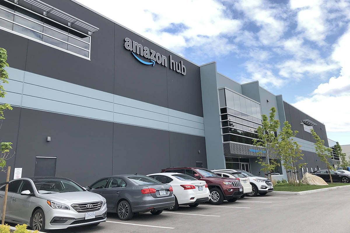 Amazon announced locations in Langley Township. One location is in Gloucester Industrial Park. (Heather Colpitts/Langley Advance Times)