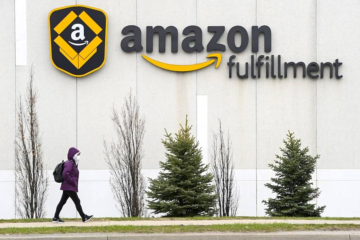 Amazon is pausing its Prime Day marketing event in Canada this year amid ongoing COVID-19 outbreaks at its facilities in Ontario. THE CANADIAN PRESS/Nathan Denette
