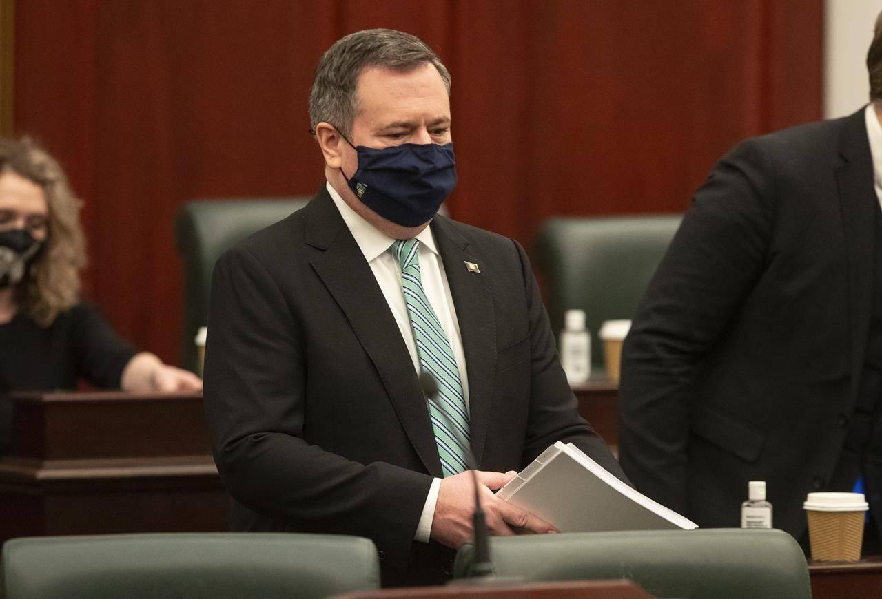 Alberta Premier Jason Kenney. THE CANADIAN PRESS/Jason Franson