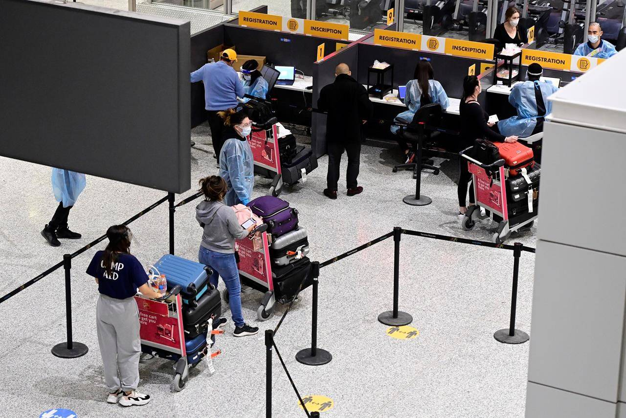 Ottawa will create a new digital platform to help process immigration applications more efficiently after the COVID-19 pandemic underscored the need for a shift to a digital system. THE CANADIAN PRESS/Frank Gunn
