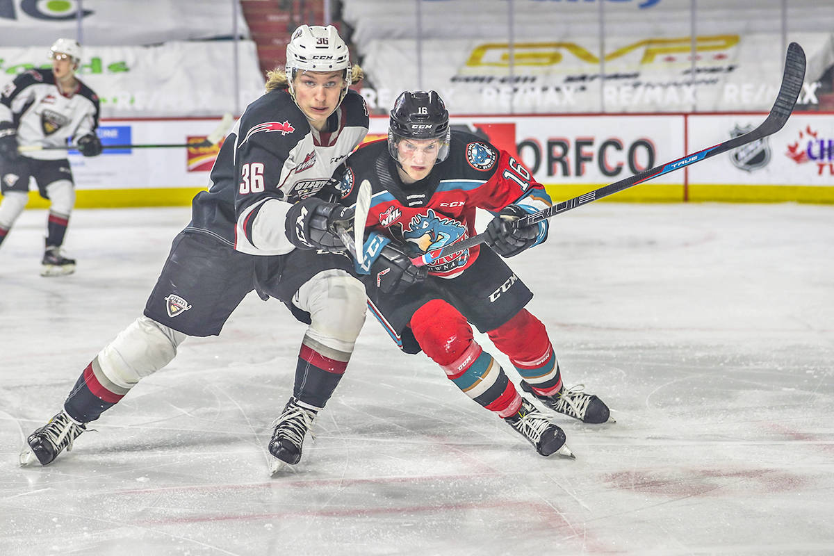 Vancouver Giants earned a 6-2 victory over the visiting Kelowna Rockets Friday night, May 7, in Kamloops (Allen Douglas/special to Langley Advance Times)