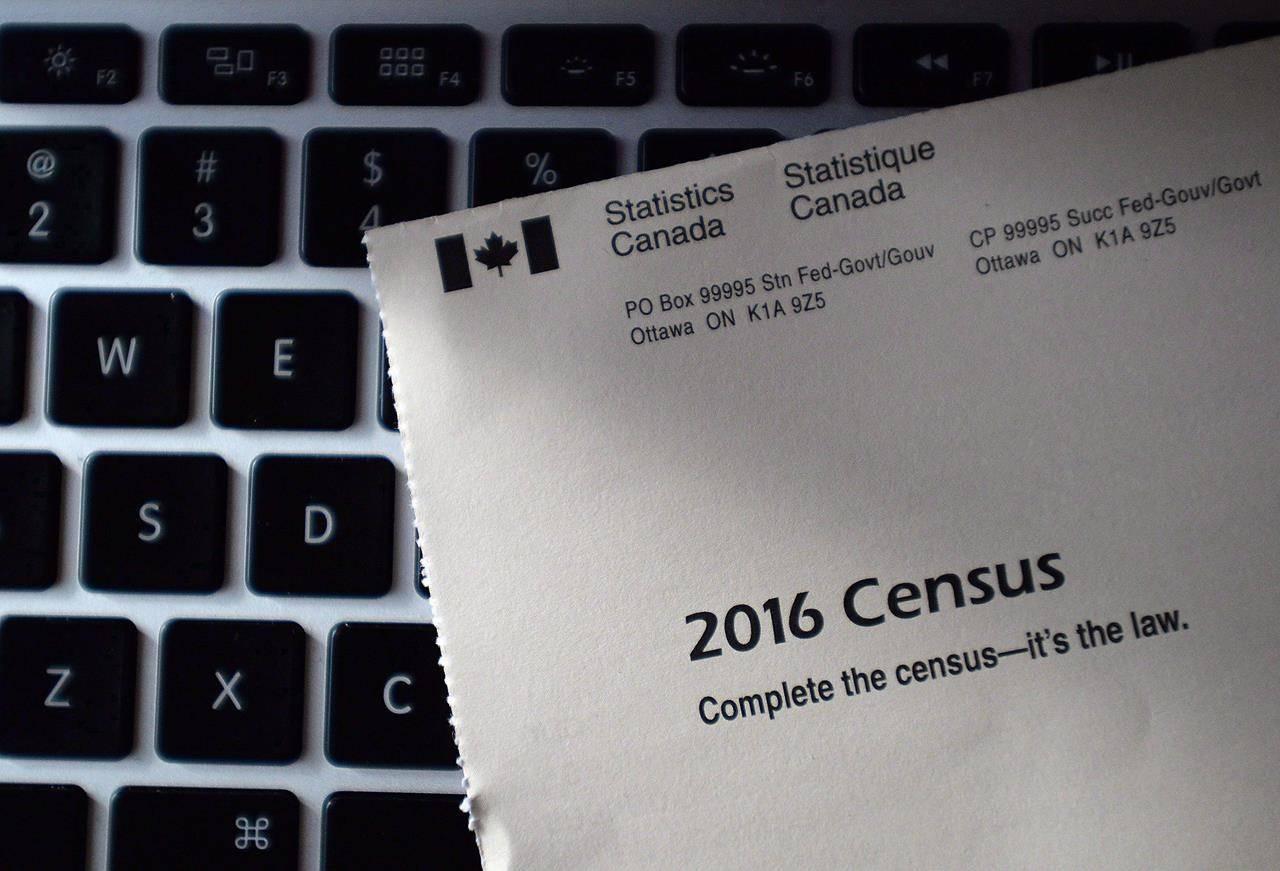 A Statistics Canada 2016 Census mailer. THE CANADIAN PRESS/Sean Kilpatrick