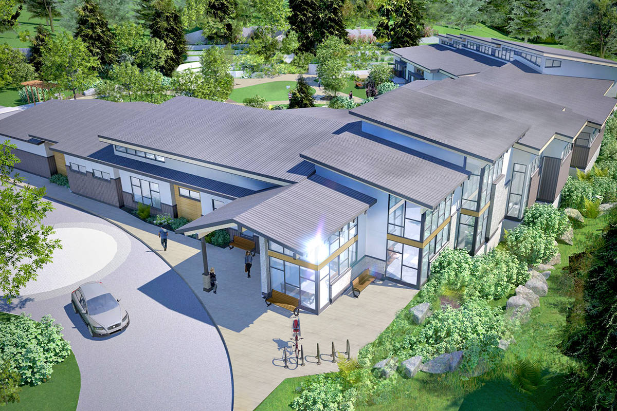 What the new Langley Hospice will look like once construction is completed. (Special to Langley Advance Times)