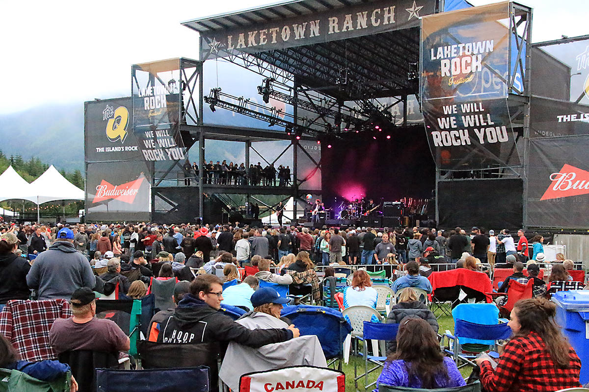 Laketown Shakedown has been rescheduled for 2022, with options for ticket holders to receive refunds or credit for future events. (File photo)