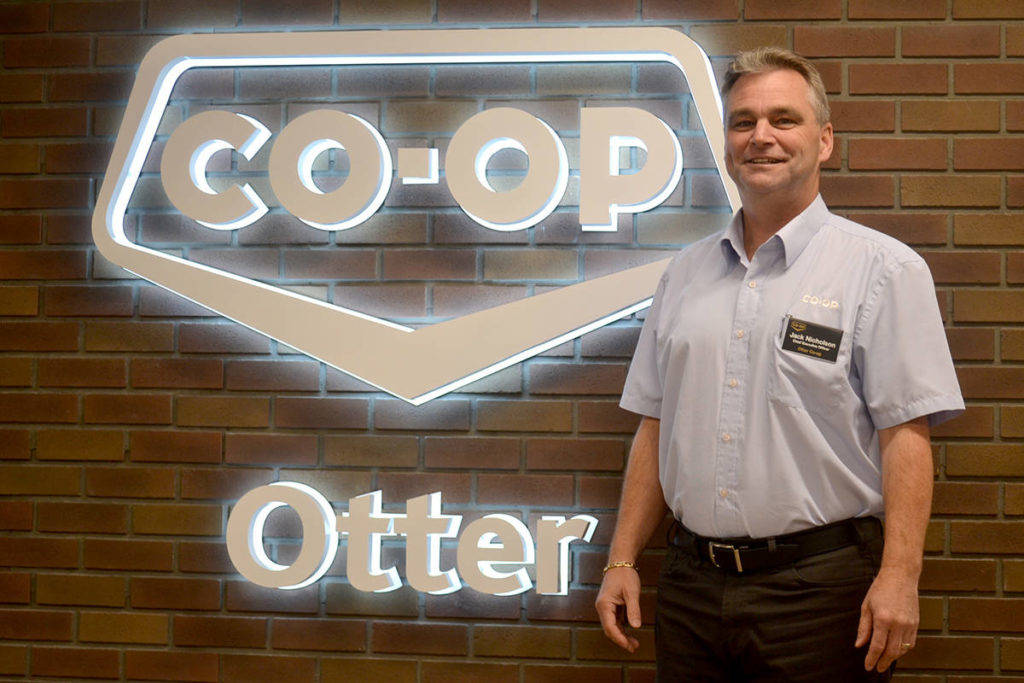 Jack Nicholson, CEO of Otter Co-op. (Ryan Uytdewilligen/Aldergrove Star)