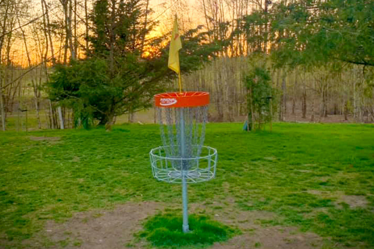 Raptors Knoll Frisbee Golf Course in Aldergrove. (Special to The Star)