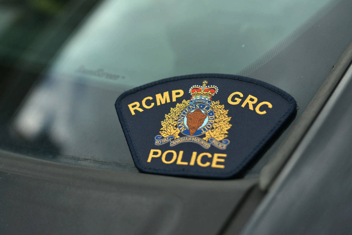 A Mountie issued B.C. RCMP's first ticket for non-essential travel May 1. (Black Press Media files)