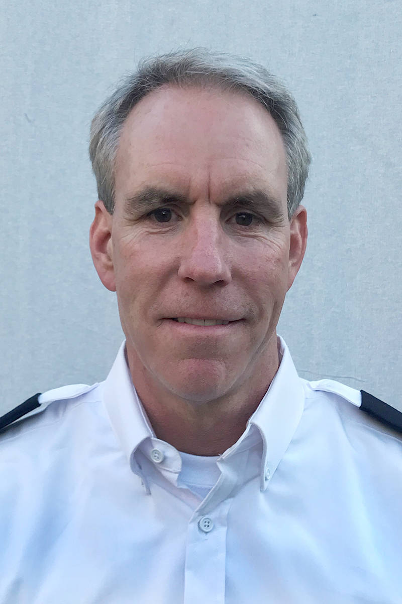 Insp. Adrian Marsden will be promoted to superintendent and taking over as officer in charge of the Langley RCMP. (RCMP/Special to the Langley Advance Times)