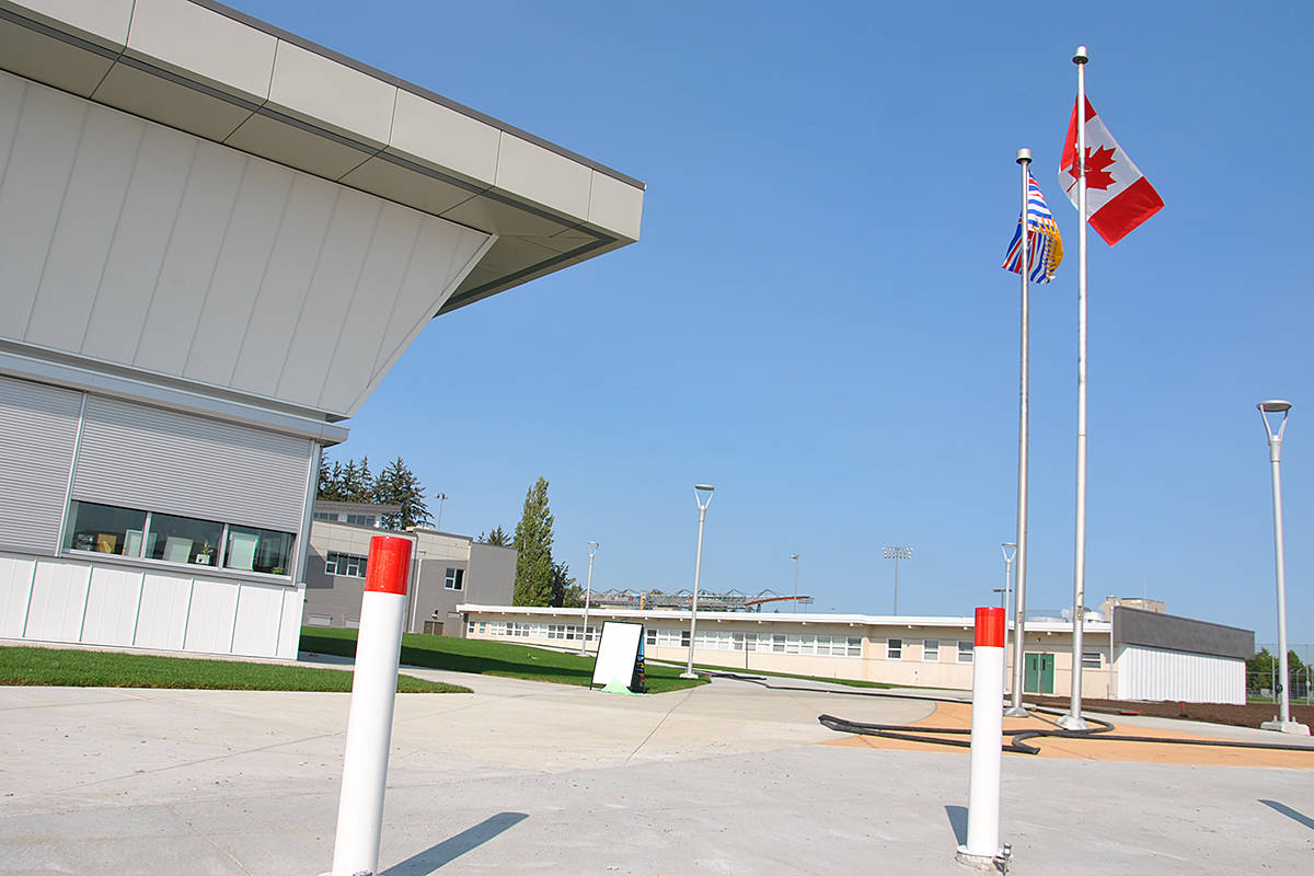 Langley Secondary School is reporting a COVID exposure. (Langley Advance Times files)