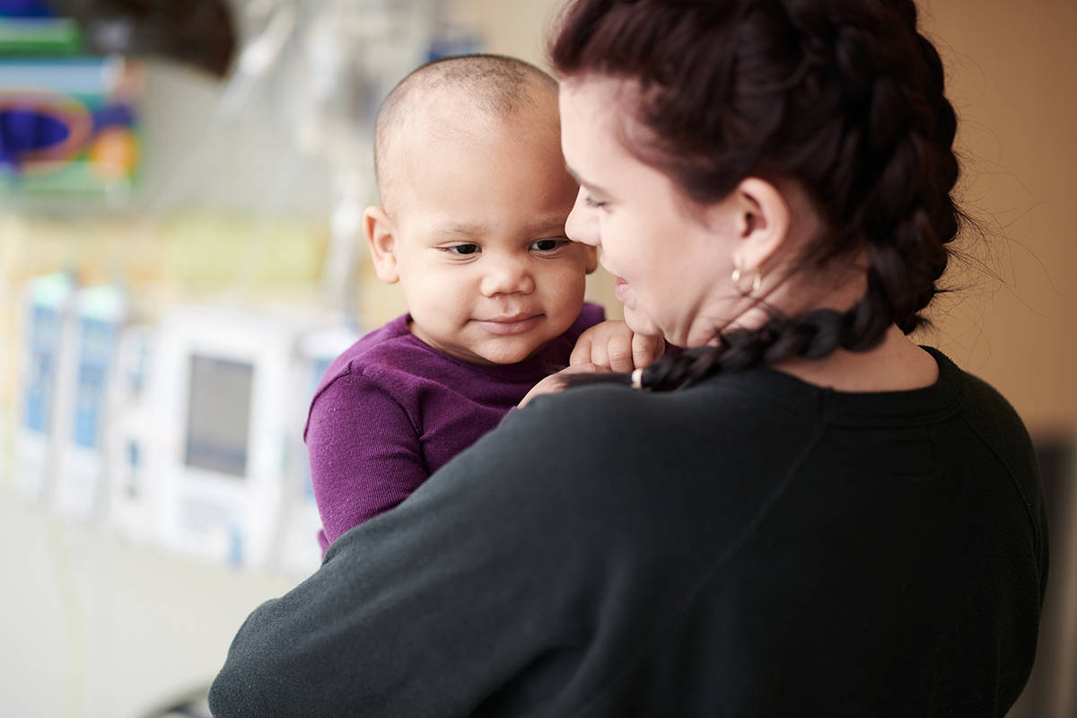Through fundraisers like Jean Up, BC Children's Hospital Foundation supports the hospital's world-leading experts who are working relentlessly to improve the lives of children like India.