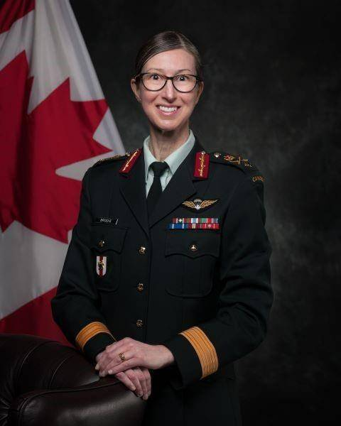 Brig.-Gen. Krista Brodie will now be responsible for managing Canada's vaccine distribution and rollout efforts. THE CANADIAN PRESS