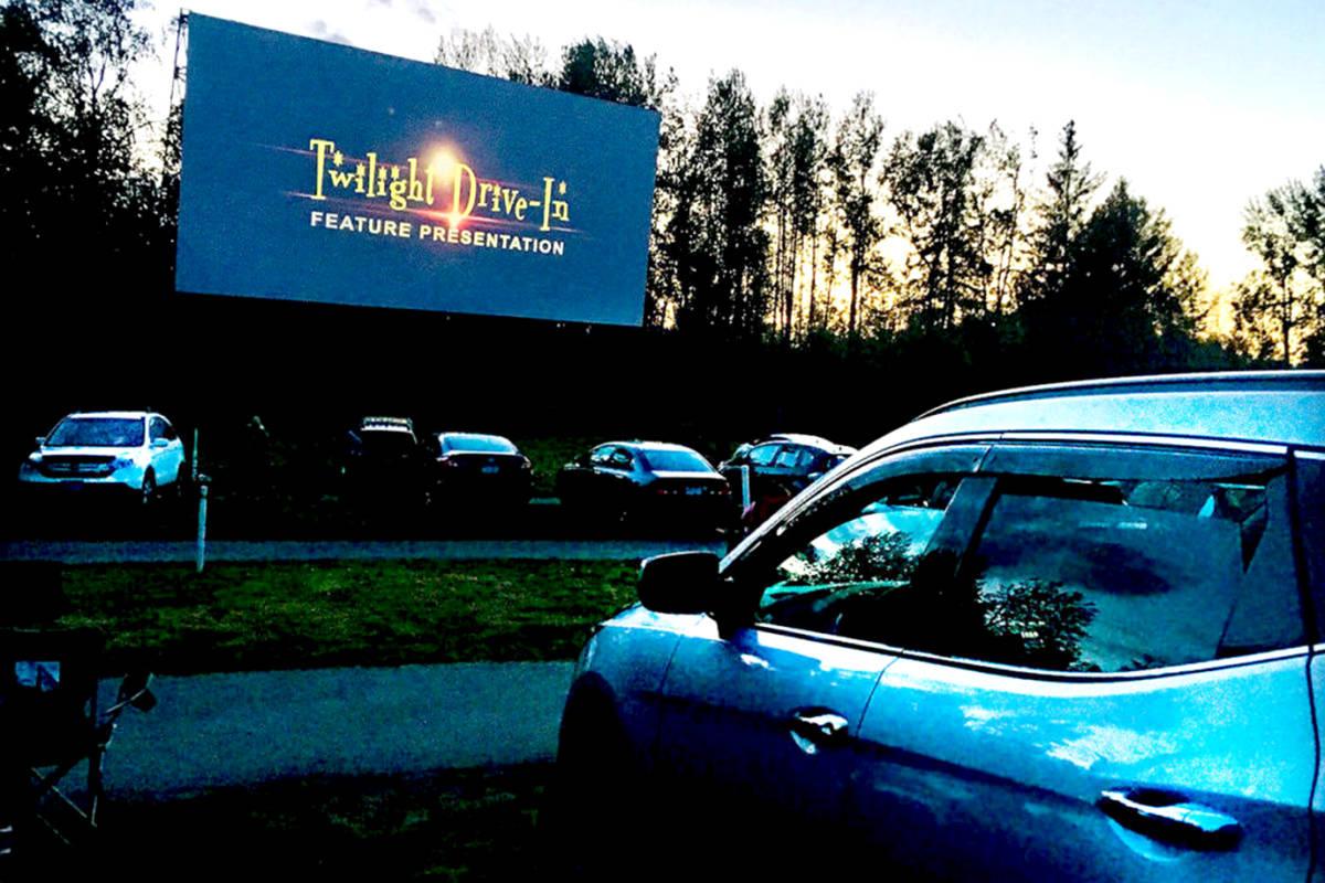 Twilight Drive-In Theatre in Aldergrove. (Aldergrove Star files)