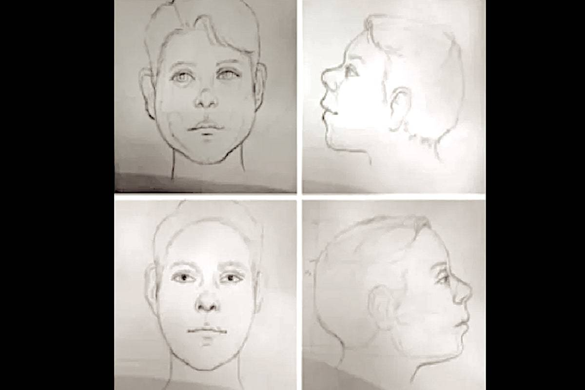 Over the years, police have worked with sketch artists to draw what the boys could have looked like at the times of their deaths. (Vancouver Police Department)