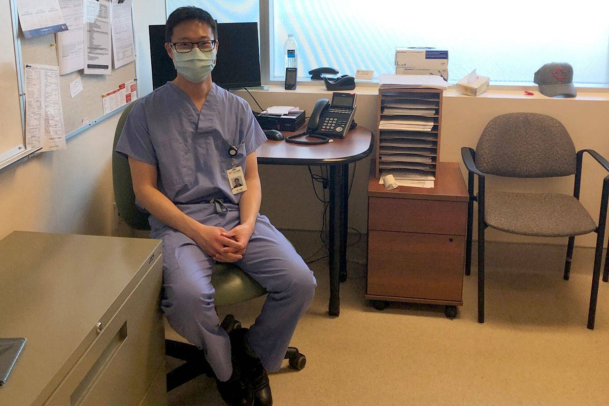 Dr. Euiseok Kim is the medical director of the new Abbotsford post-COVID-19 recovery clinic. (Submitted)