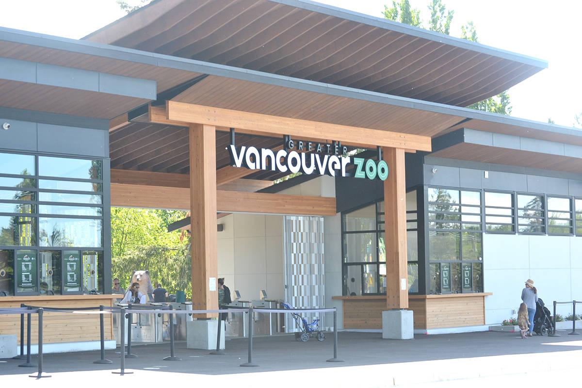Great Vancouver Zoo's new entrance. (Ryan Uytdewilligen/Black Press Media)
