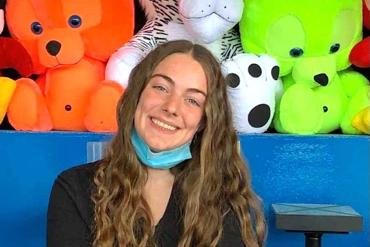 Katie Dritsas, 19, has worked as a carnival worker at PNE's Playland, the largest employer of youth in British Columbia. (Submitted)