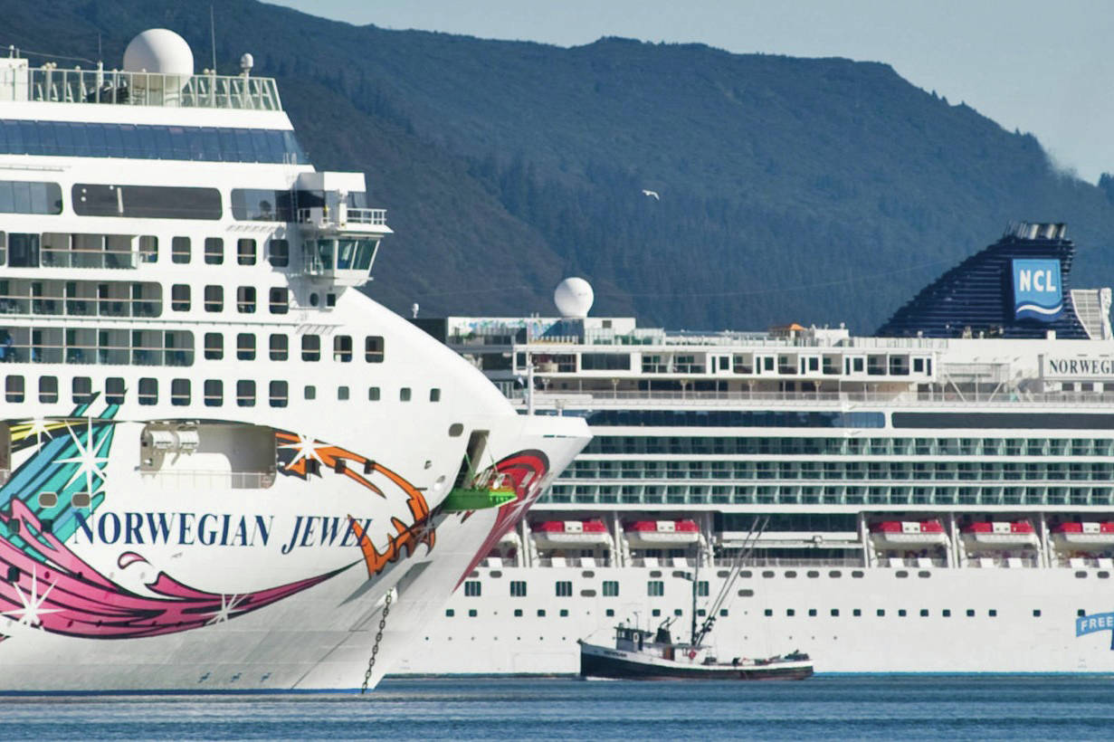 The U.S. Senate on Thursday, May 13 passed a bill that could allow cruise ships to come straight to Alaska. (Michael Penn/Juneau Empire File)