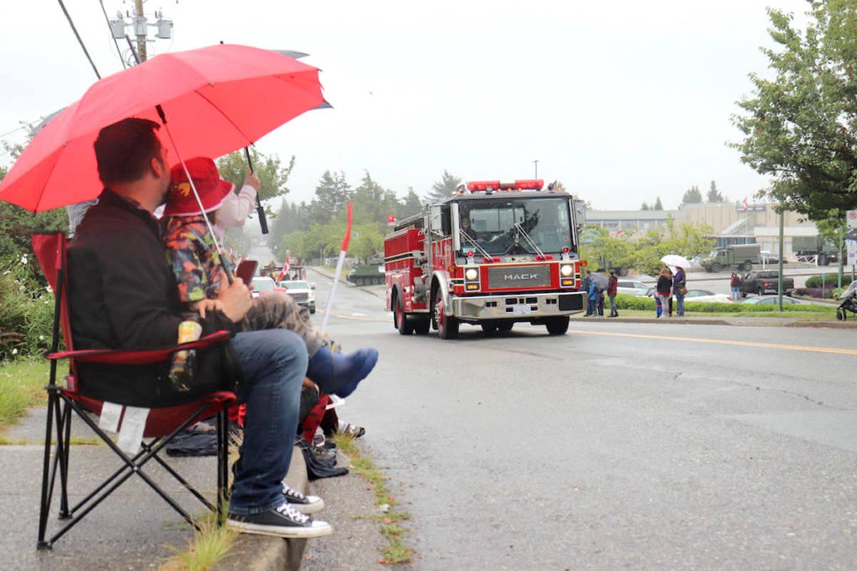 Aldergrove Canada Day parade took place in 2020 with COVID protocols in place. (Aldergrove Star files)