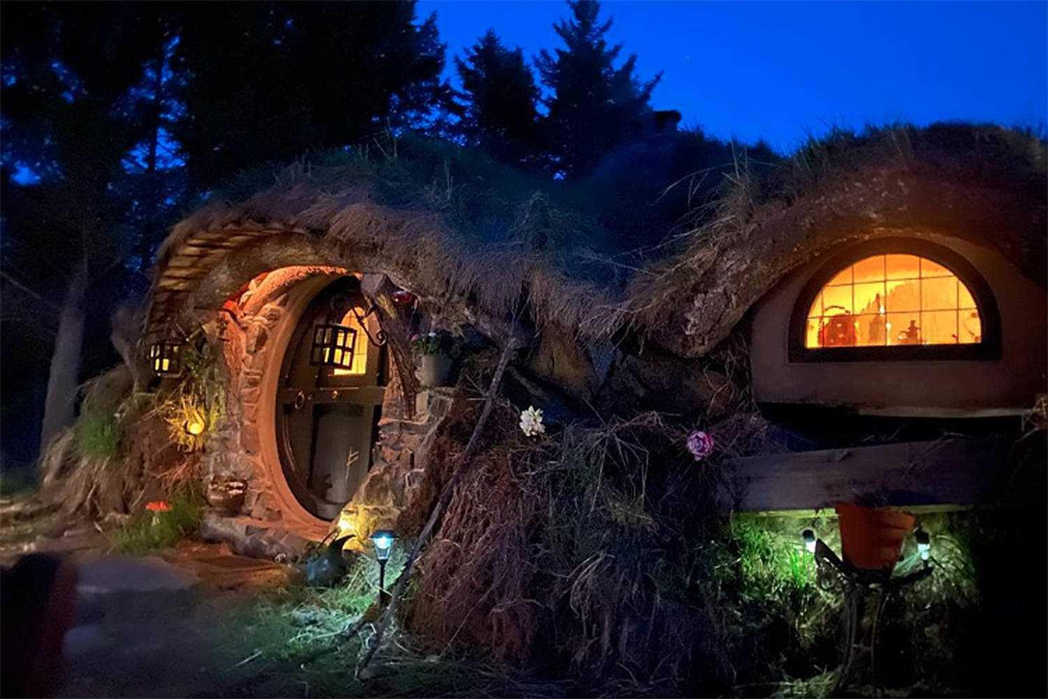 The mountain hideaway north of Bridesville will be changing its name following a warning over the usage of 'hobbit' by Warner Bros. (Instagram)