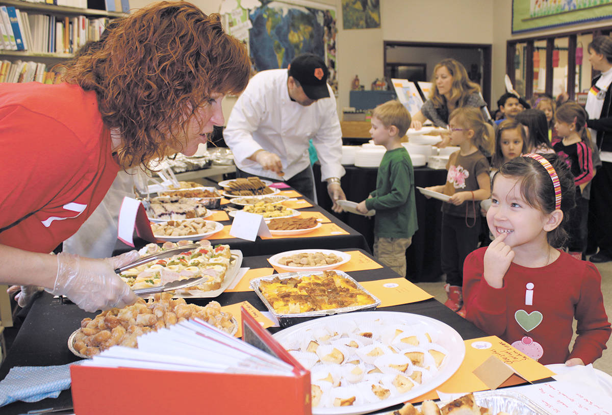 In adition to literacy programs, technology support, specialist assessment, and other projects, the Langley School District Foundation has food programs to tackle student hunger. (Langley School District Foundation)