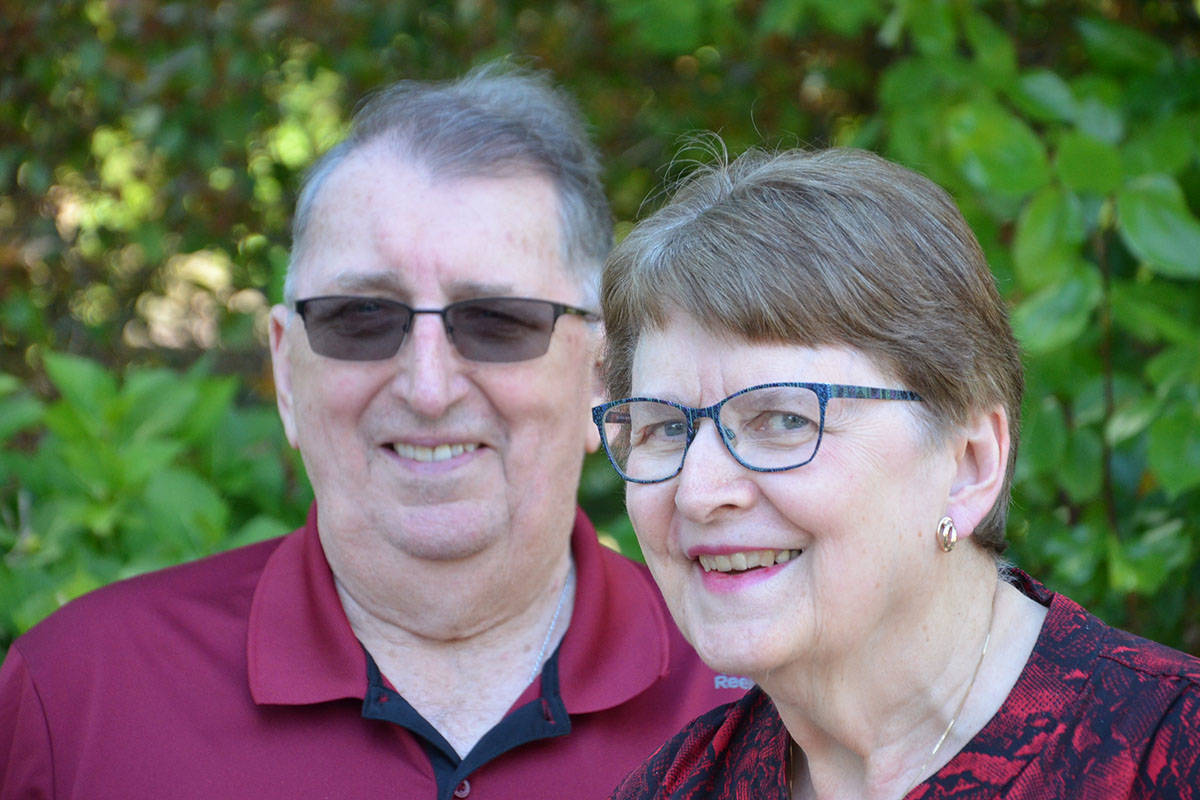 Bill and Arlene Pike are Langley pioneers, having lived most of their lives here, and found out on May 25 that they are Seniors of the Year for their contributions to the community. (Heather Colpitts/Langley Advance Times)