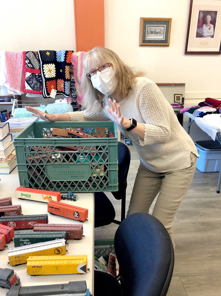 Karen Long helps out at the Aldergrove Seniors and Veterans Society. (Special to The Star)