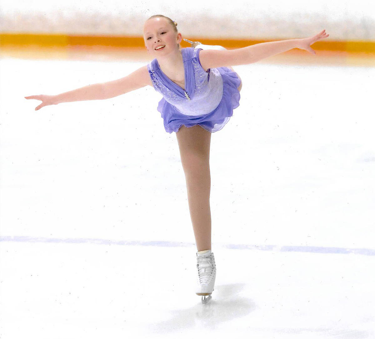Maya Towstyka brought home a silver during the Skate Canada's B.C. coast regional competitions held virtually earlier this month. (Langley Skating Club/Special to Langley Advance Times)