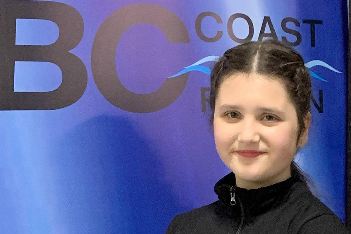 Annaliese Beckmann brought home a gold during the Skate Canada's B.C. coast regional competitions held virtually earlier this month. (Langley Skating Club/Special to Langley Advance Times)