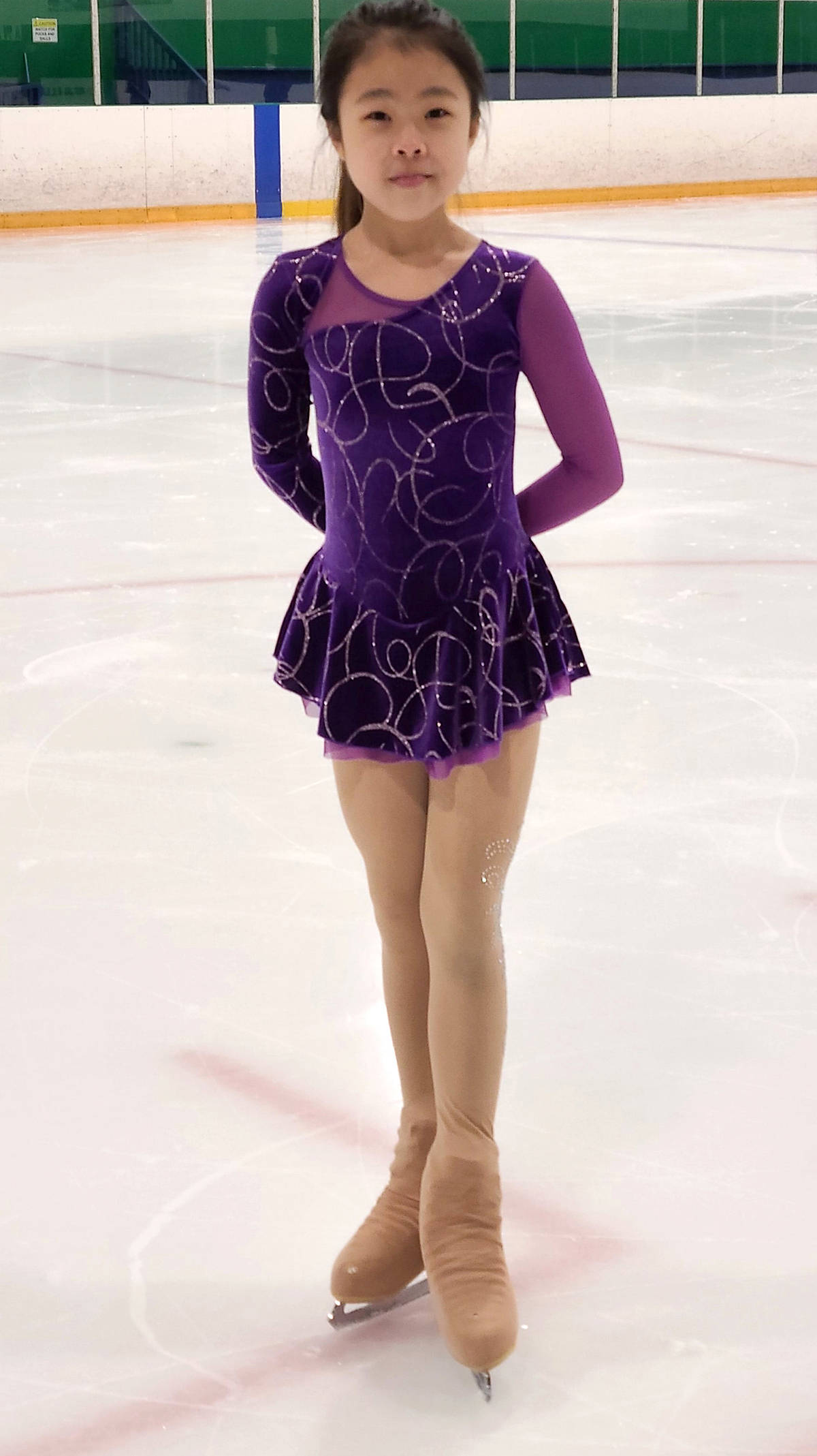 Irena Lin brought home a gold during the Skate Canada's B.C. coast regional competitions held virtually earlier this month. (Langley Skating Club/Special to Langley Advance Times)