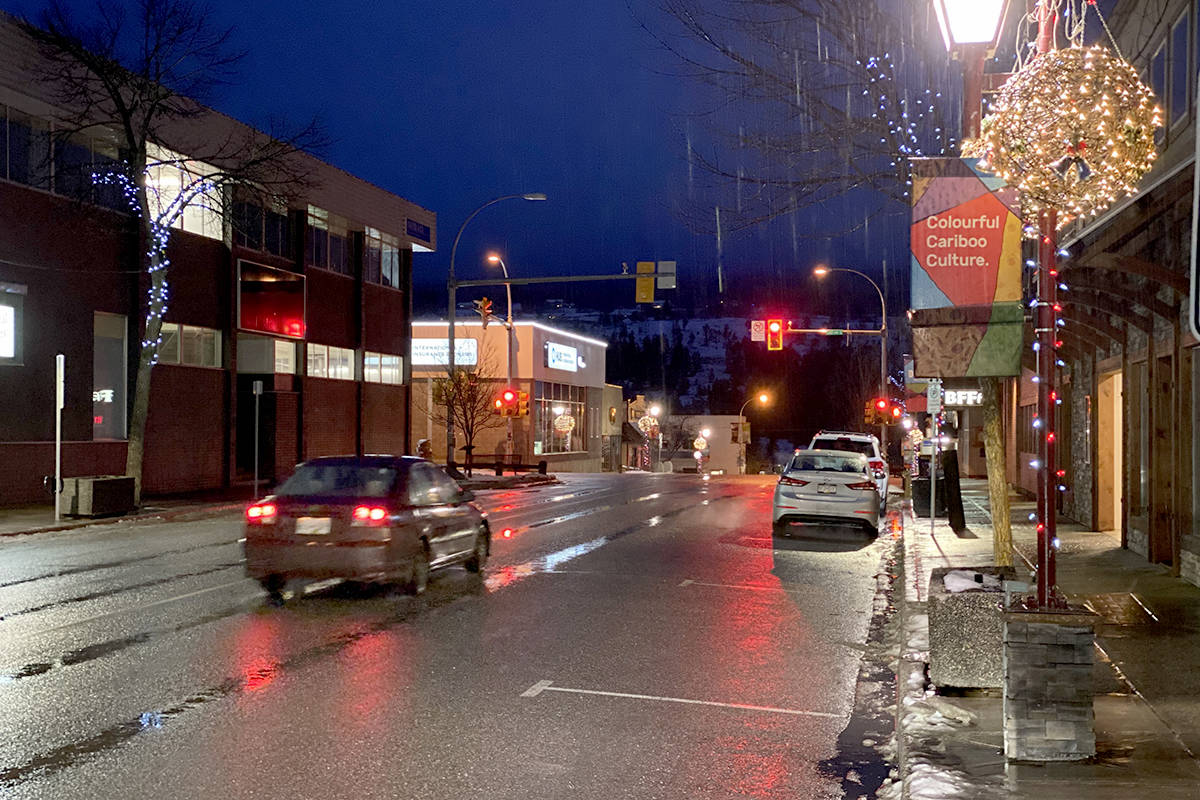 Downtown areas across B.C. have emerged from a bleak winter, with business closures and restrictions as a result of the COVID-19 pandemic. (Angie Mindus/Williams Lake Tribune)