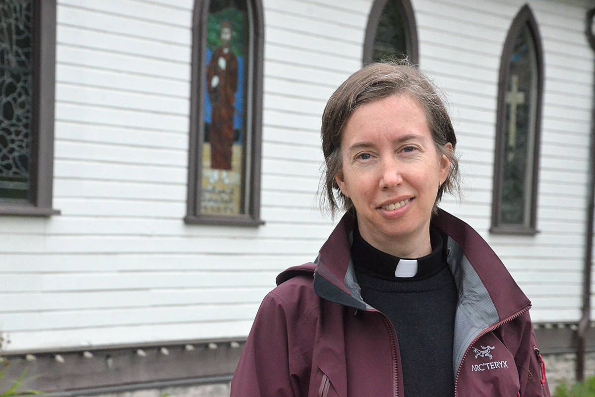Rev. Kelly Duncan of Fort Langley's St. George's Anglican Church says some online worship will remain – even after COVID – to reach those who can't come in person. (Matthew Claxton/Langley Advance Times)