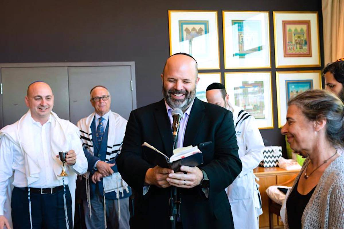 A new B.C. public health order expected this week will allow faith groups to host in-person, indoor services. (Facebook/Dan Moskovitz)