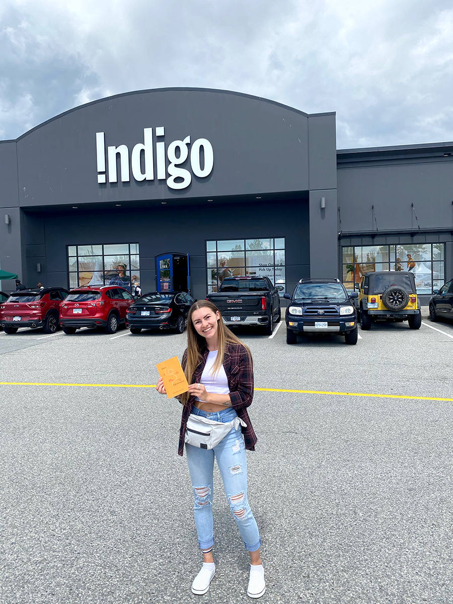 Brandi Marie, an Aldergrove writer, released her first poetry collection in 2020, which can now be found in Indigo Langley. (Special to The Star)