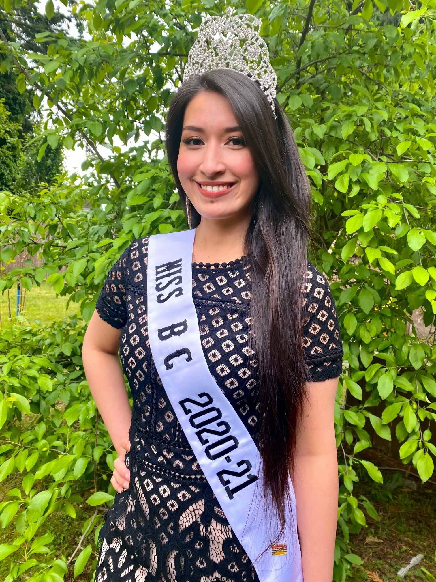"""The current reigning Miss BC Bremiella De Guzman, who is from Surrey, is wanting to set the record straight after a different woman, claiming to be """"Miss BC 2020,"""" used the N-word repeatedly in a TikTok video. (submitted photo)"""