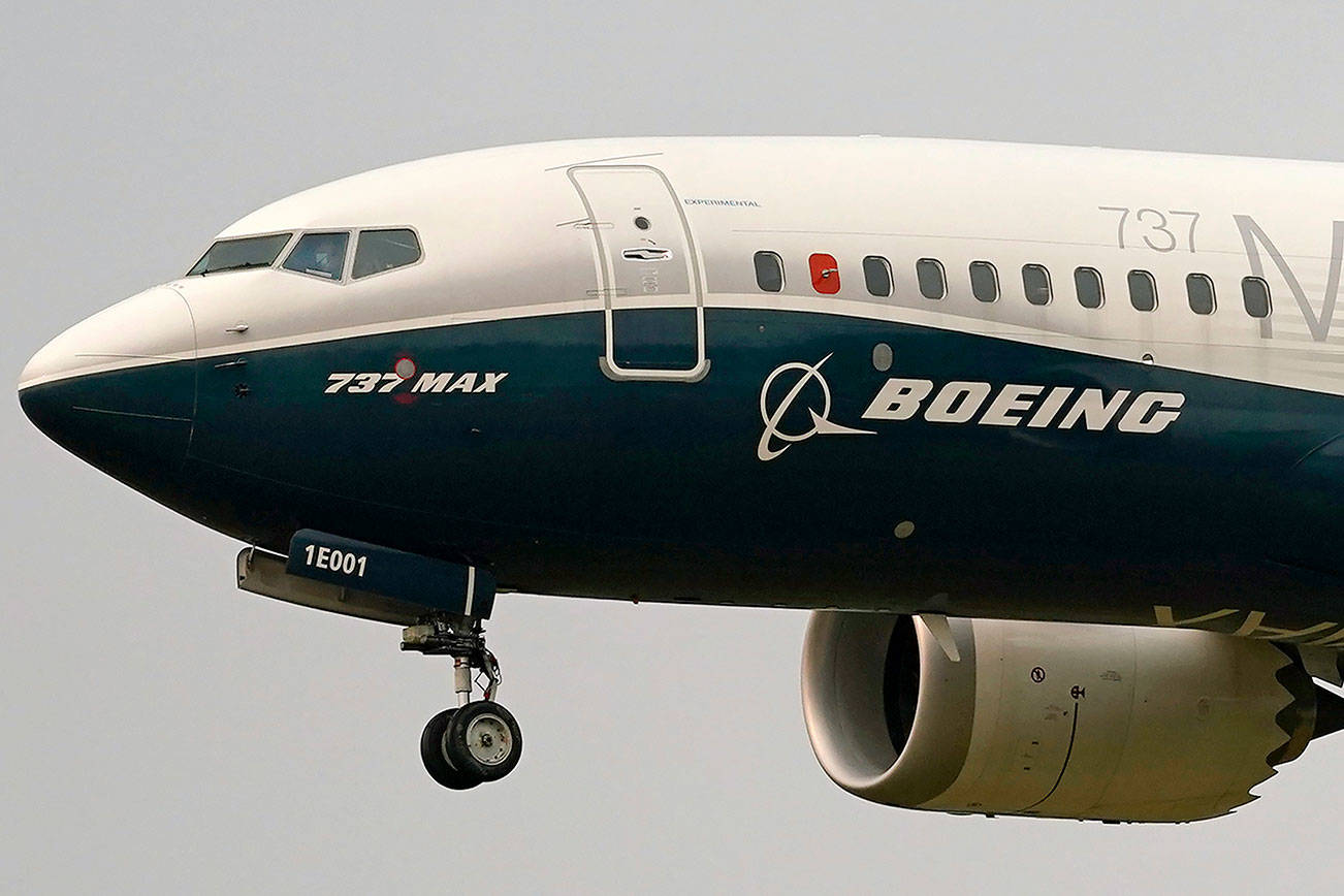 The pandemic has reduced the demand for new planes from manufacturers but what will happen when international travel restrictions allow people to vacation abroad? (AP Photo/Elaine Thompson, File)
