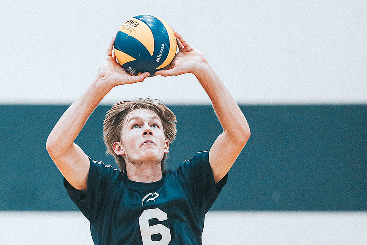 Mathias Elser, a member of the TWU Spartans team in Langley, will once again play for U21 Canada team. (TWU/Special to Langley Advance Times)