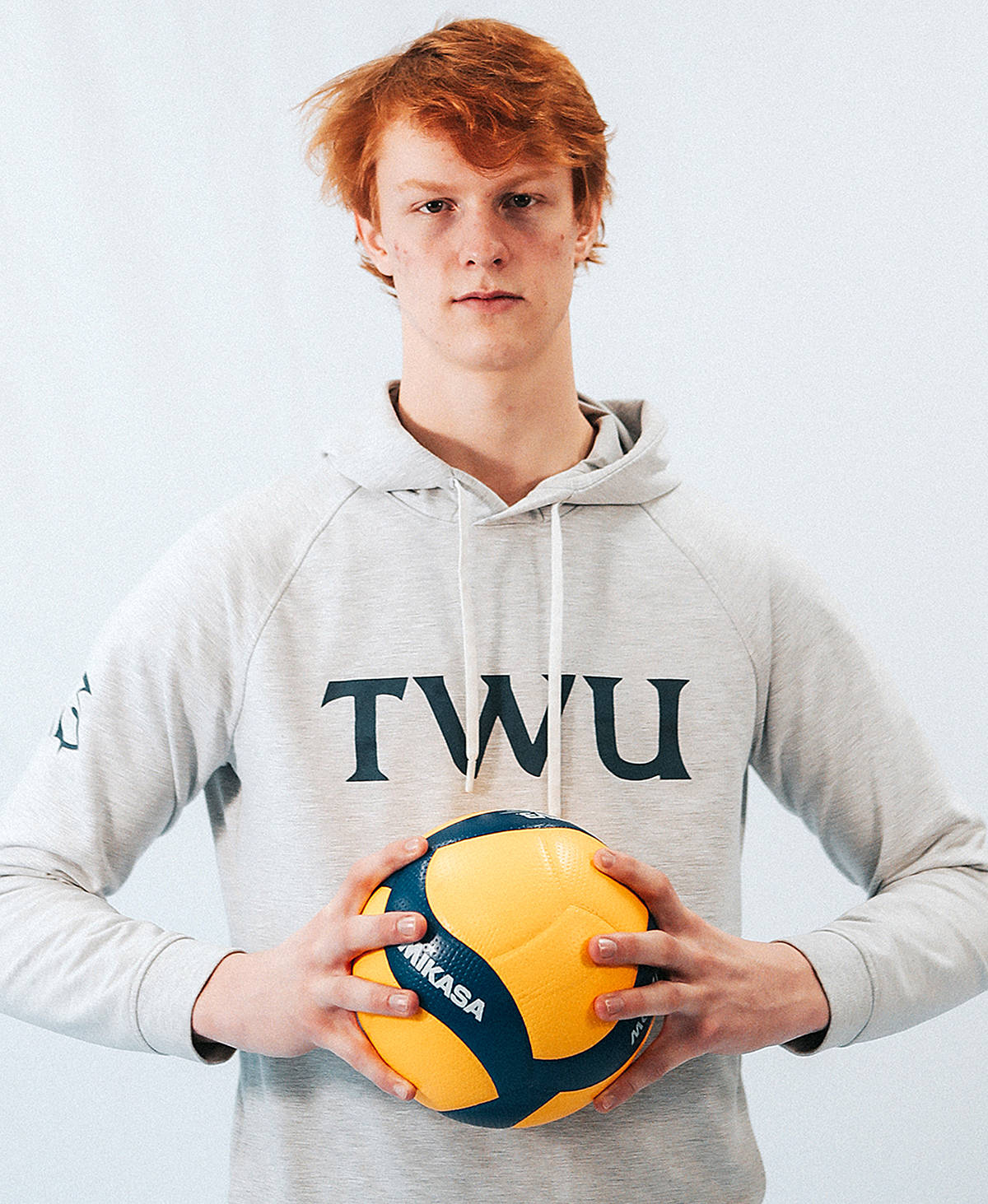 Volleyball middle Cory Schoenherr, a member of the TWU Spartans team in Langley, will once again play for Canada team. (TWU/Special to Langley Advance Times)