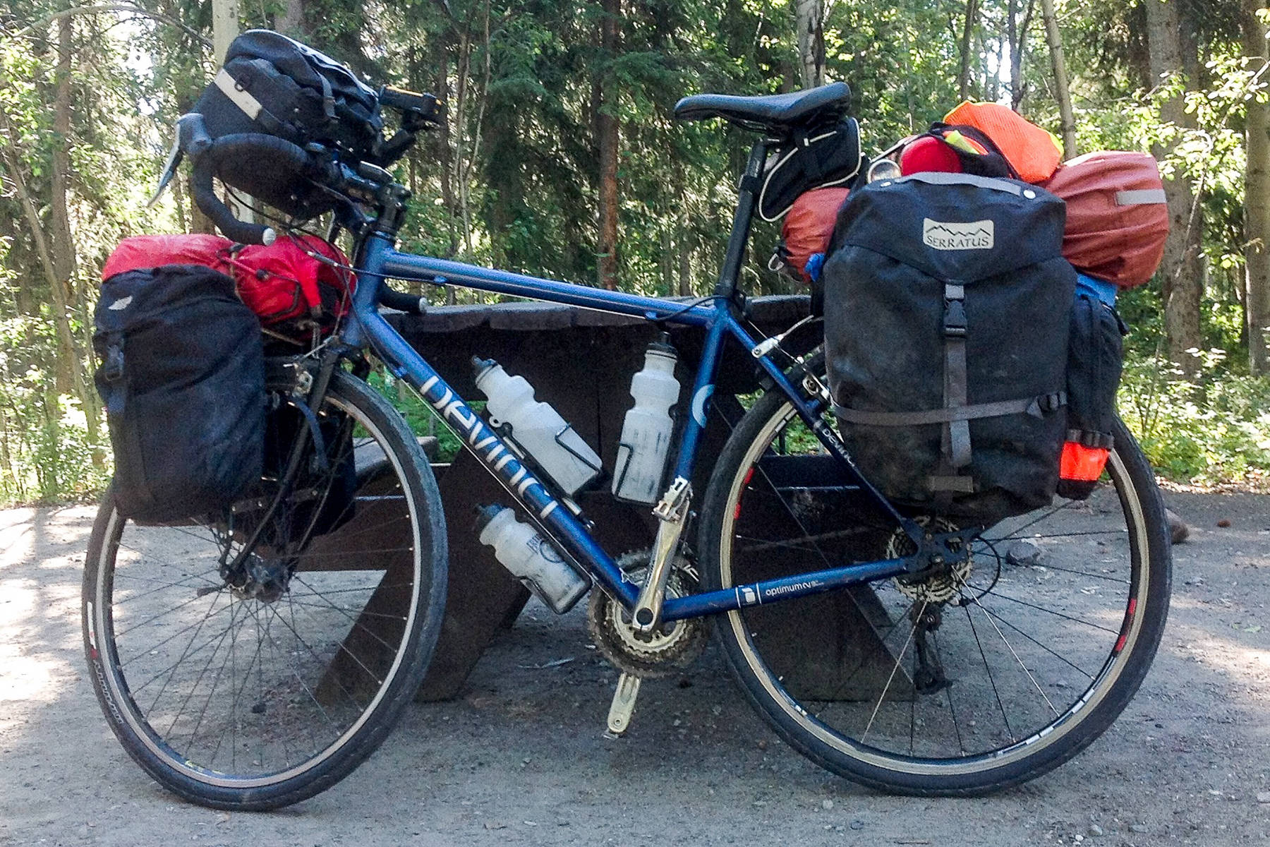 Bicycle touring allows cyclists to experience the province and the country. Do you know the length of the longest bicycle tour on record? (John Arendt - Summerland Review)