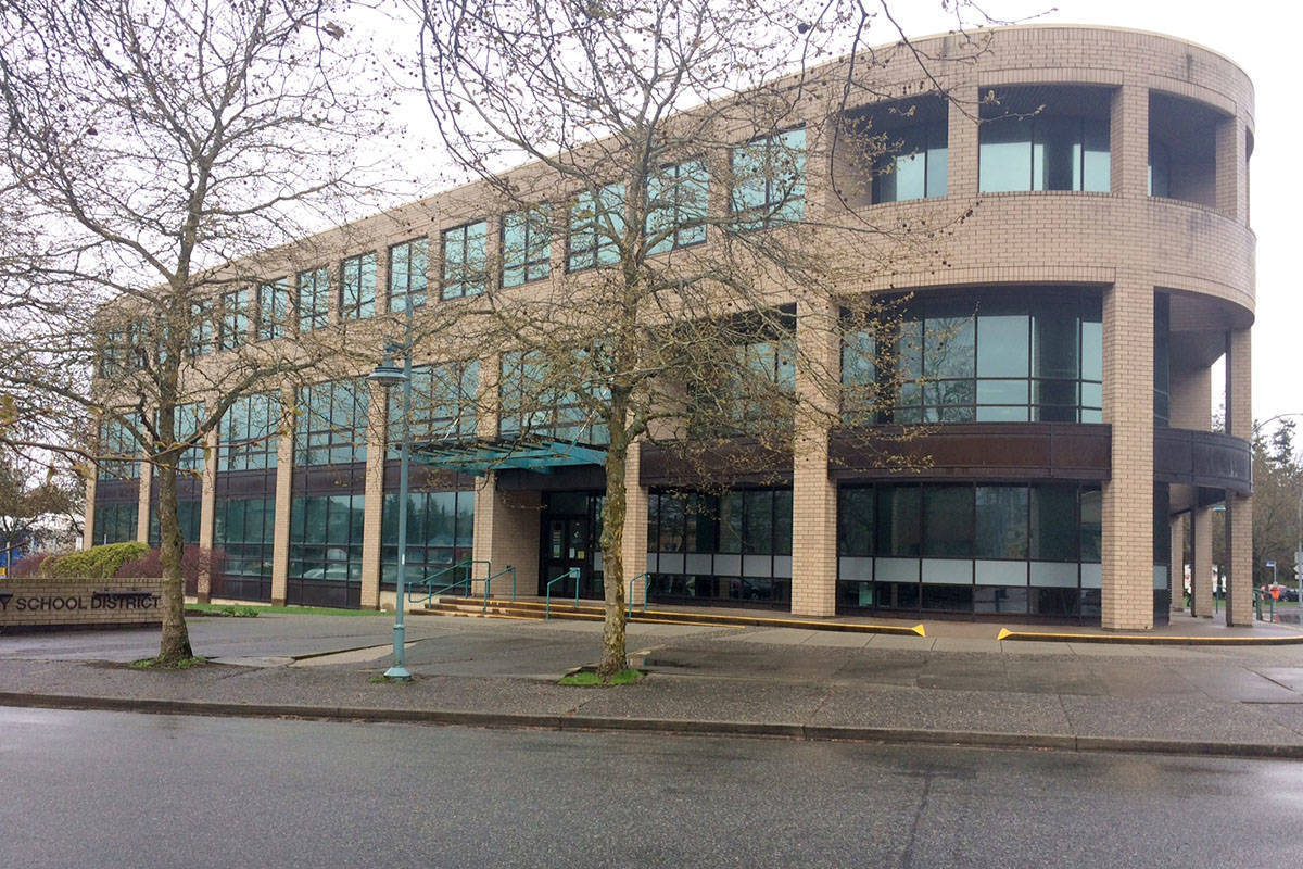 Langley School District office. (Aldergrove Star files)