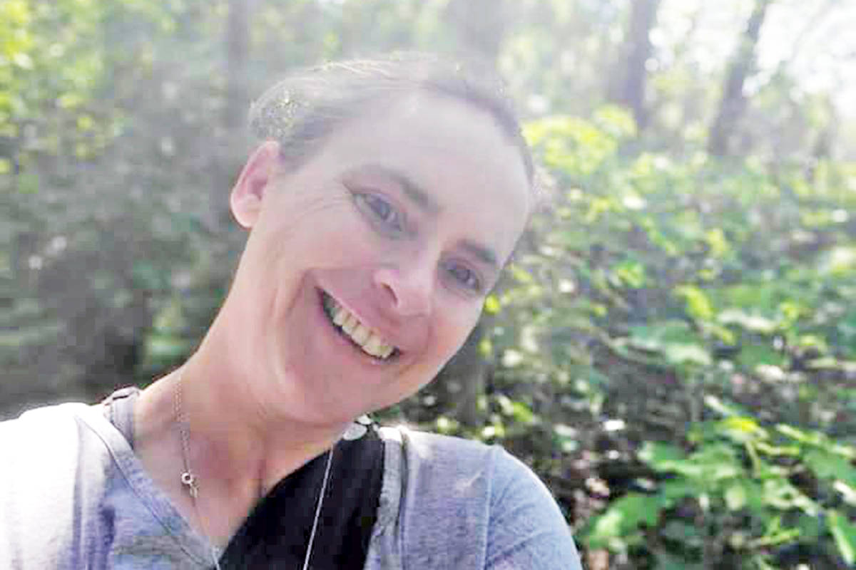 Sunday, Jaime Dickson and some friends will go for a walk in the Aldergrove Regional Park as part of a Canada-wide virtual event to raise money for MS research. (Special to Langley Advance Times)