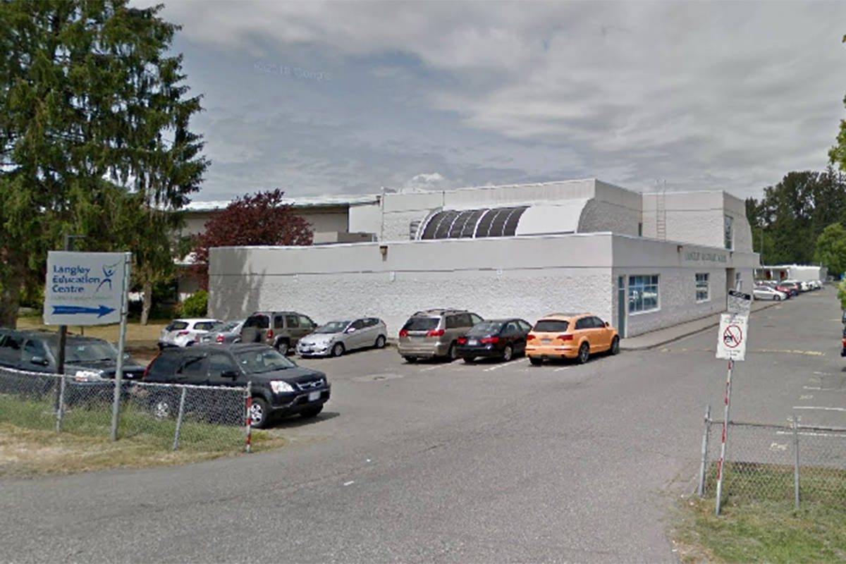 Undated Google Maps image of Langley Education Centre (file)